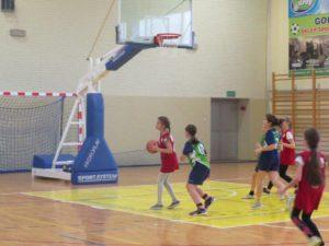 Powiatowe zawody w koszykówce dziwcząt styczeń 2020