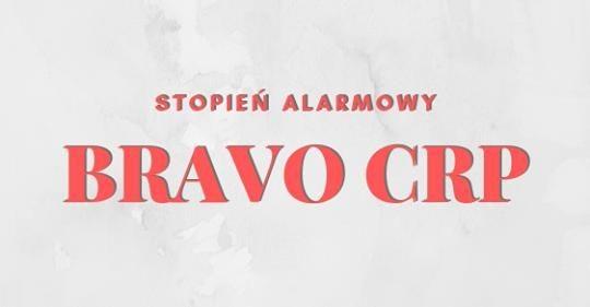 Ogłoszenie BRAVO CRP - logo