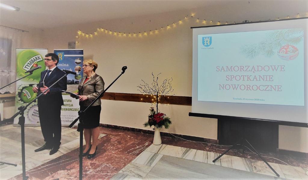 Noworoczne Spotkanie Samorządowe w Tymbarku