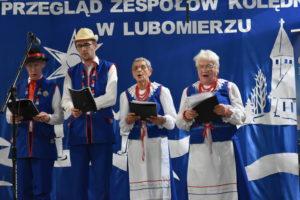 Wizyta Partnerska : Koszalin , Kłodzko - delegacja podczas Powiatowego Przegladu Kolędniczego w Lubomierzu
