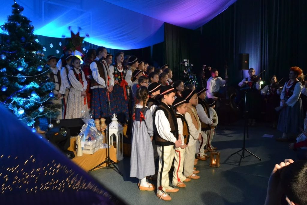 """""""Kolędować każdy może"""" – Dziecięcy Festiwal Kolędowy w Szczawie - uczestnicy"""