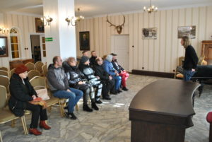 Wizyta Partnerska : Koszalin , Kłodzko - delegacja w Muzeum Rgionalnym Ziemi Limanowskiej