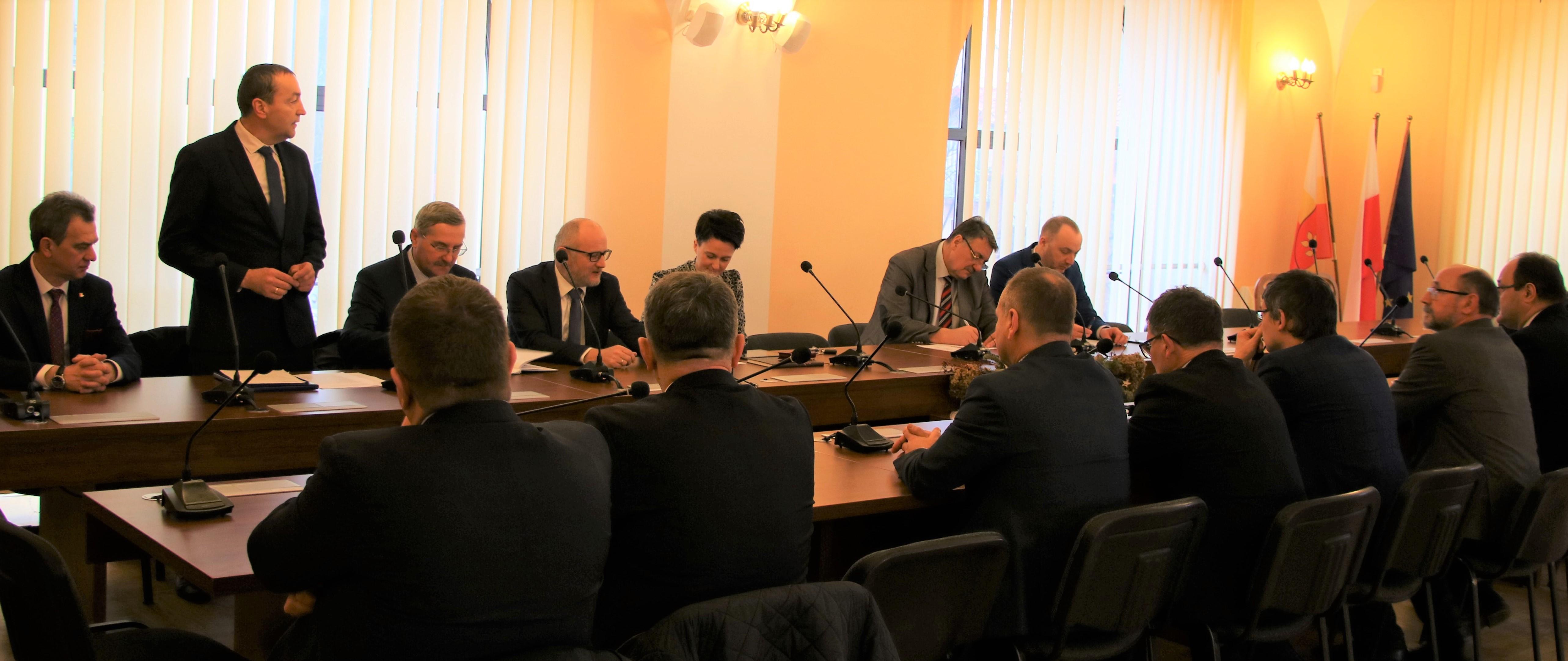 Forum Wójtów i Burmistrzów Powiatu Limanowskiego styczeń 2020