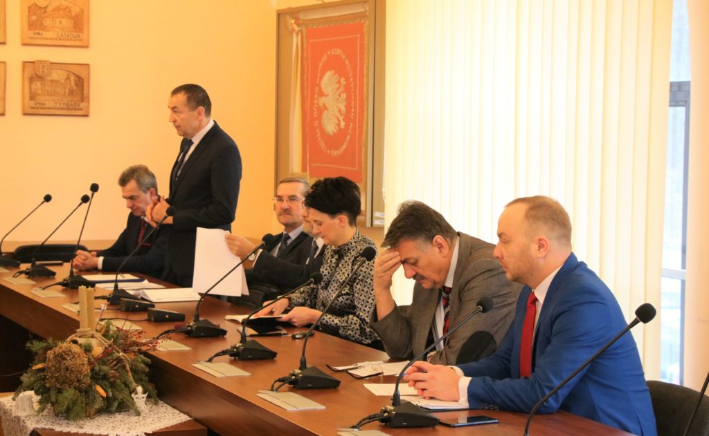 Forum Wójtów i Burmistrzów Powiatu Limanowskiego - styczeń 2020