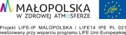 """Konkurs WM pn. """"Torba z recykligu"""" - logo prjektu LIFE Małopolska"""