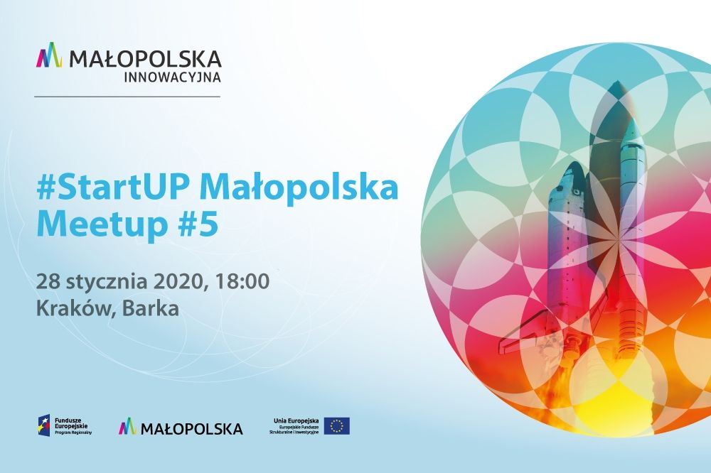 Malopolska StartUP plakat