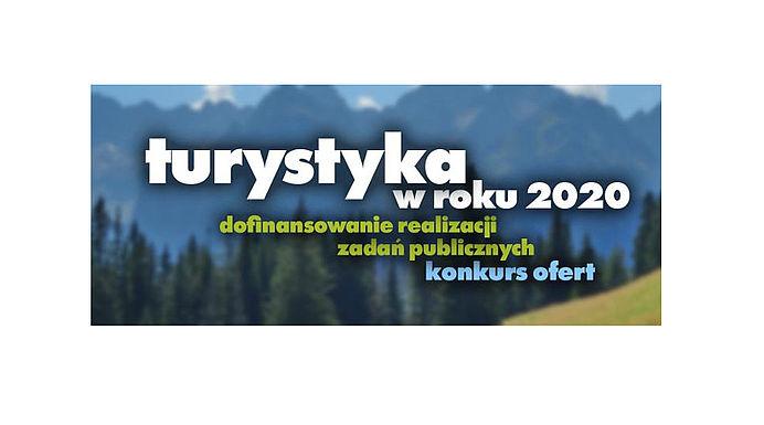 Ogólnopolski konkurs na wsparcie rozwoju turystyki - 2020 - logo