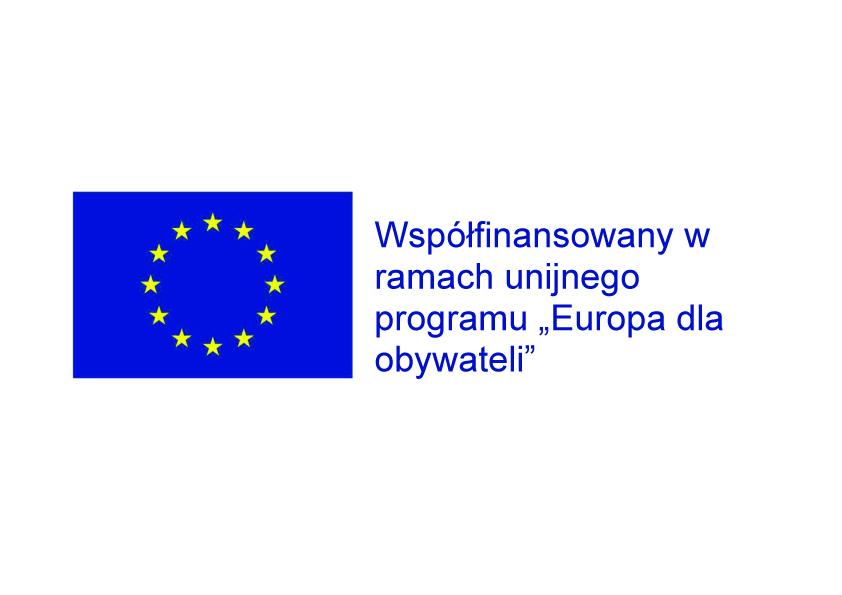 """logo rojektu """"Europa dla obywateli"""""""