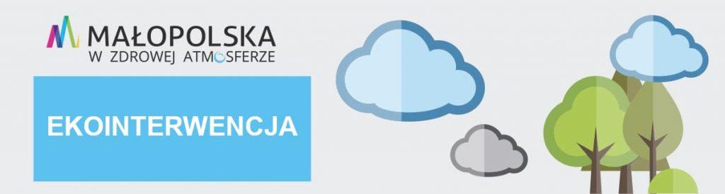 Ekointerwencja Małopolska w zdrowej atmosferze - logo