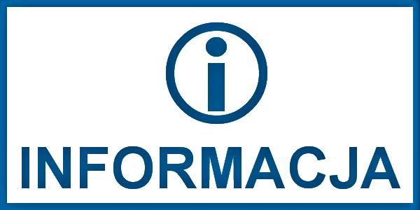 Informacja, logo