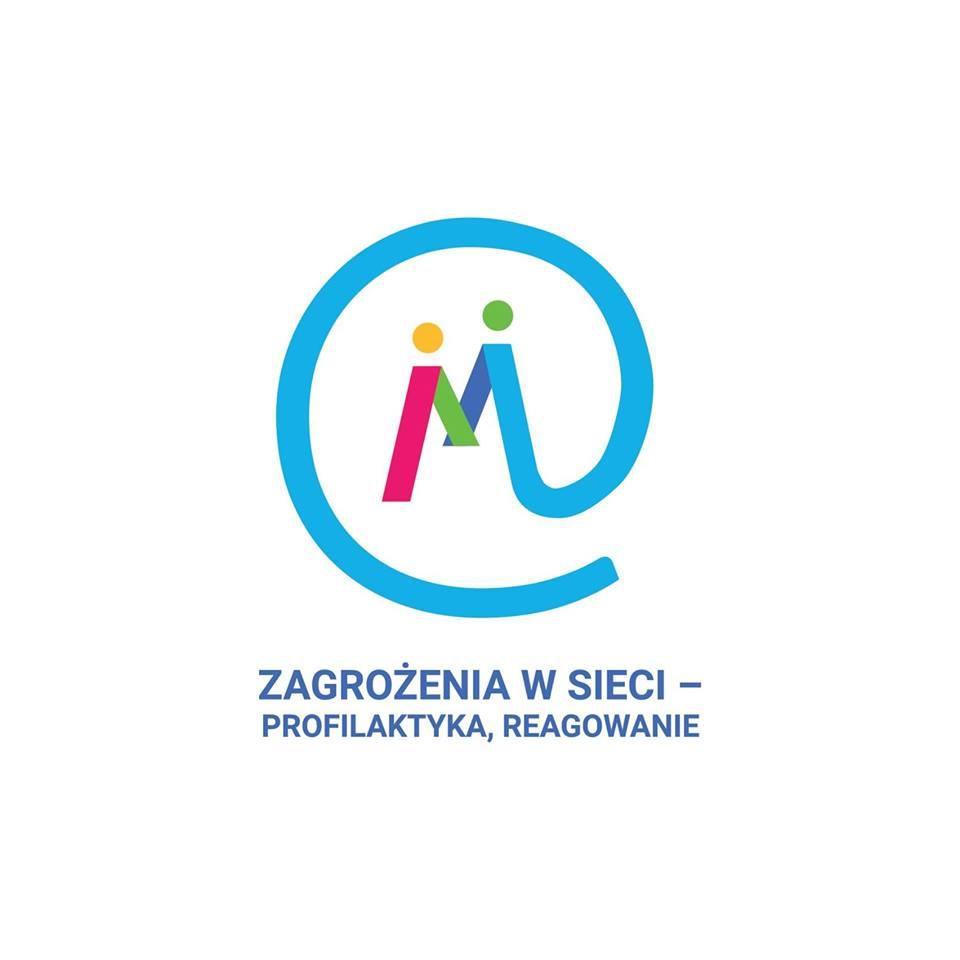 Zagrożenia w sieci – profilaktyka, reagowanie, akcja UWM i KW Policji - logo
