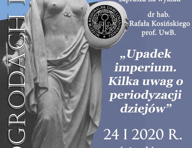 """""""W ograodach Klio"""" - wykład 24.01"""