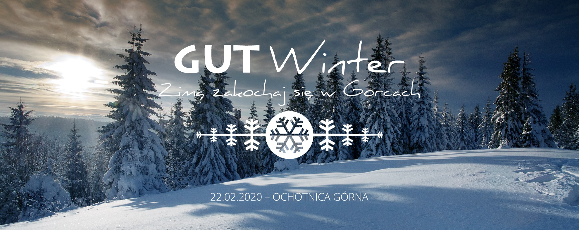 Bieg Gorce Ultra-Trail Winter 2020. Ochotnica Górna- logo