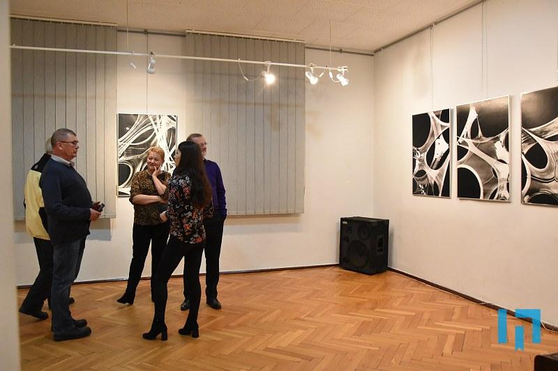 """ernisaż wystawy """"Eskalacja"""" Karoliny Cygnar w Miejskiej Galerii Sztuki w Limanowej"""