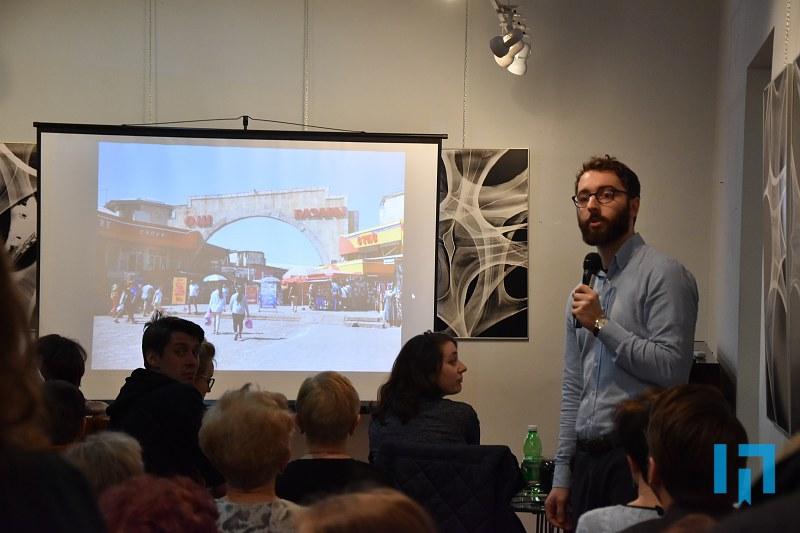 Adam Olesiak w Miejskiej Bibliotece publicznej w Limanowej - spotkanie