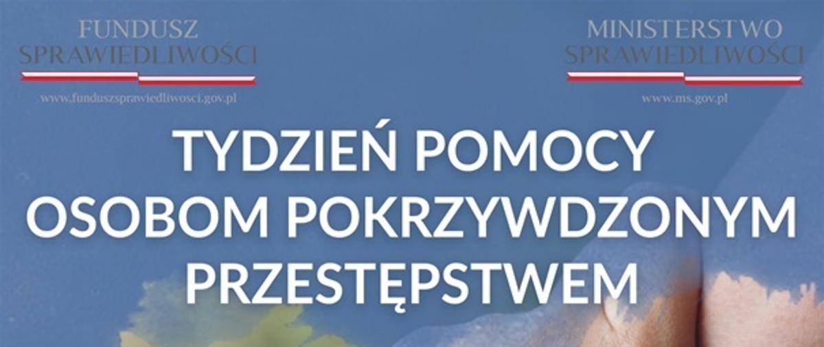 Ogólnopolski Tydzień Pomocu Ofiarom Przestępstw 2020 - logo