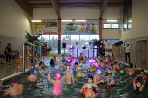 Ferie na Plywalni Limanowskiej - syskoteka na basenie