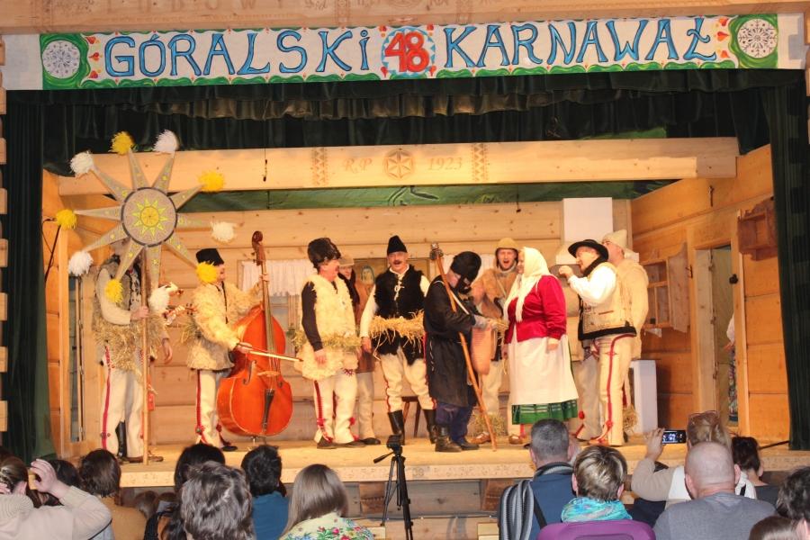 Lubomierzanie laureatami Grand Prix 48. Góralskiego Karnawału w Bukowinie Tatrzańskiej