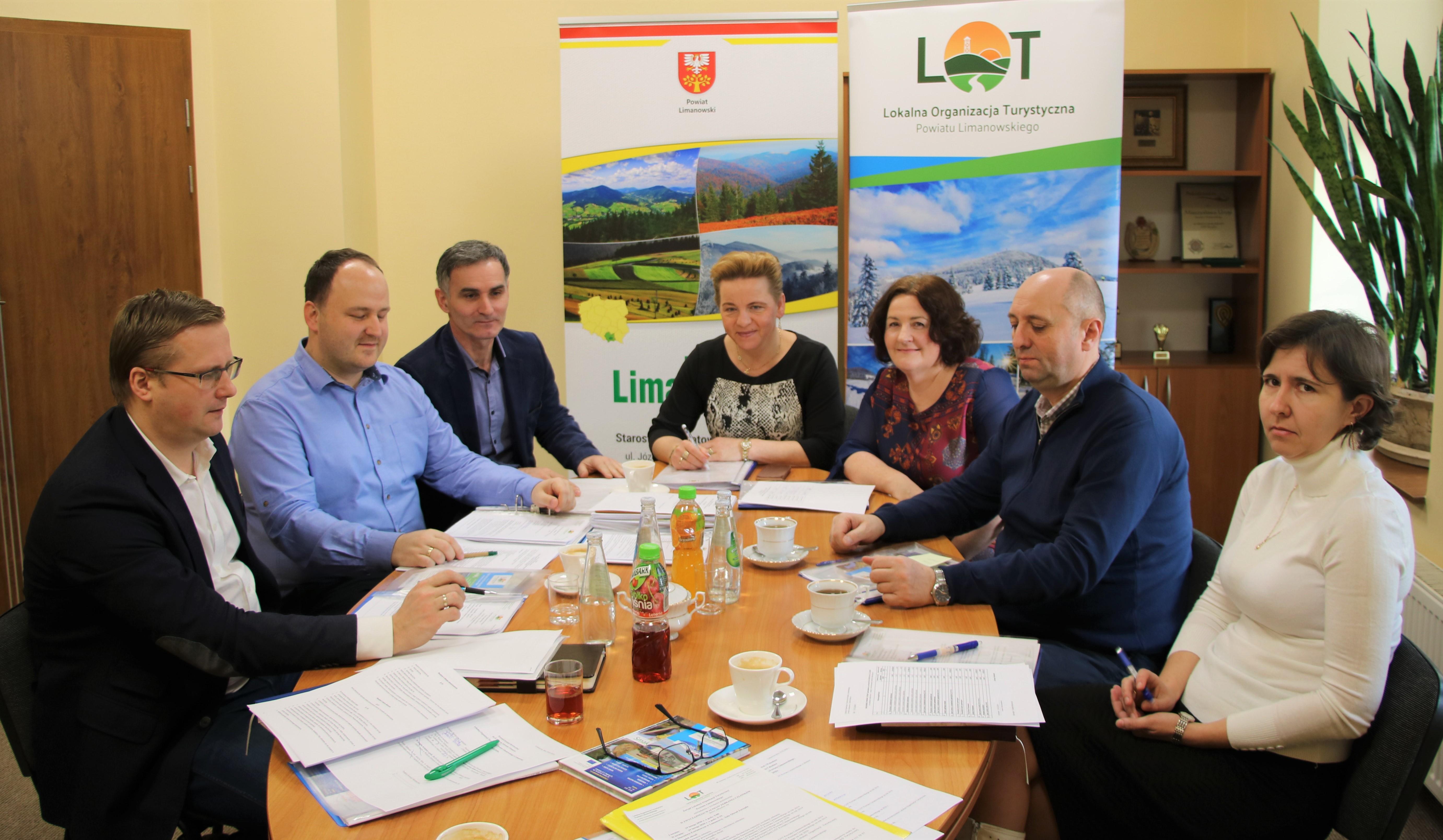 II Walne Zebranie Członków Lokalnej Organizacji Turystycznej Powiatu Limanowskiego;