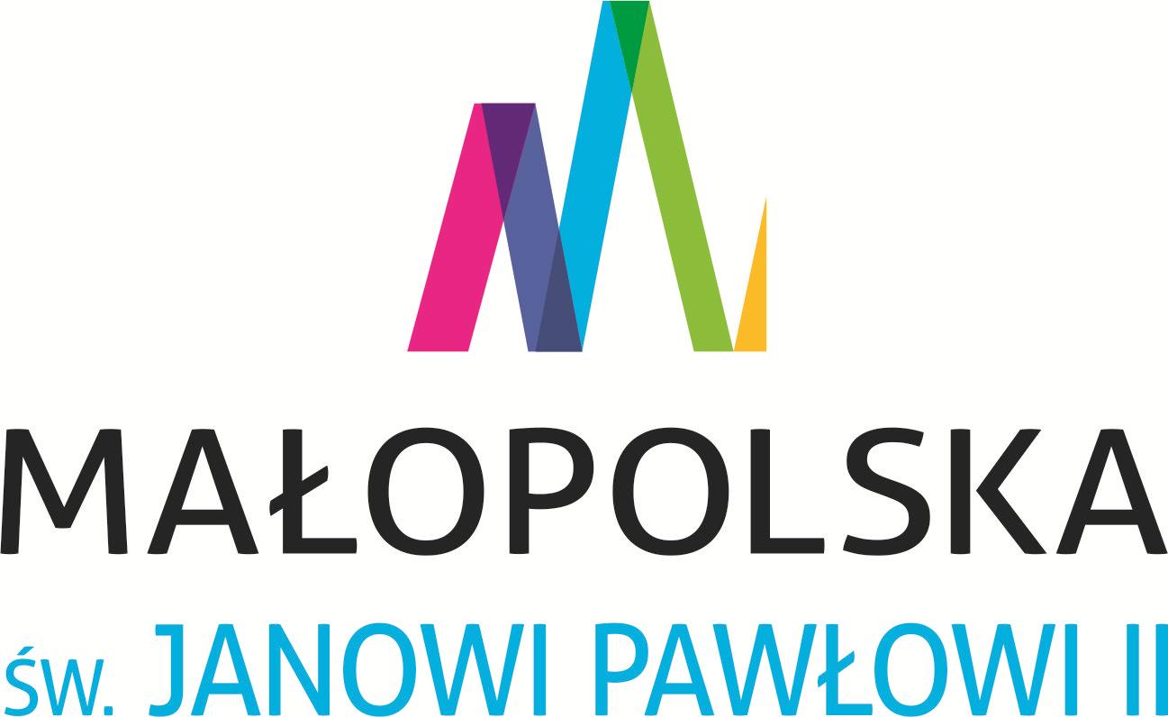 Startuje nowy konkurs Województwa Małopolskiego dla organizacji pozarządowych w rocznicę urodzin św. Jana Pawła II- logo