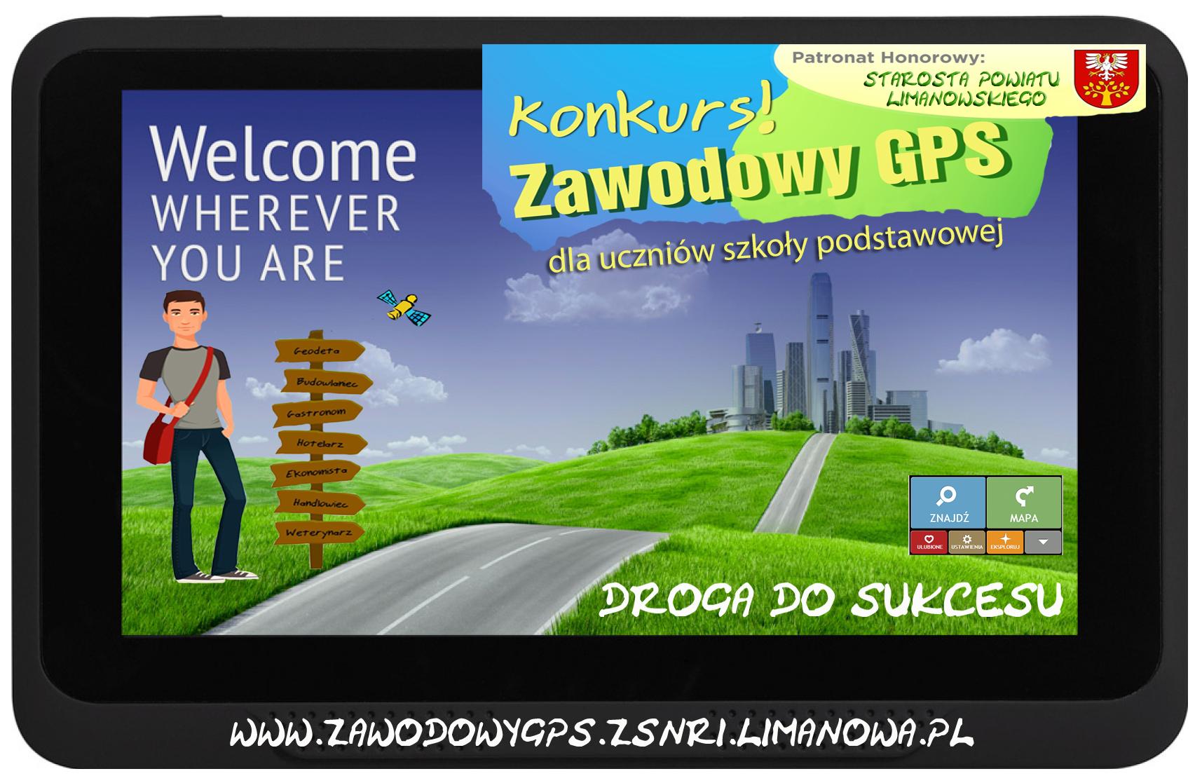 """konkurs """"Zawodowy GPS"""" ZS nr 1 w Limanowej - finaliści"""