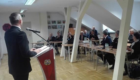 Narada roczna KP PSP w Limanowej podsumowującą działalność ć jednostki za rok 2019