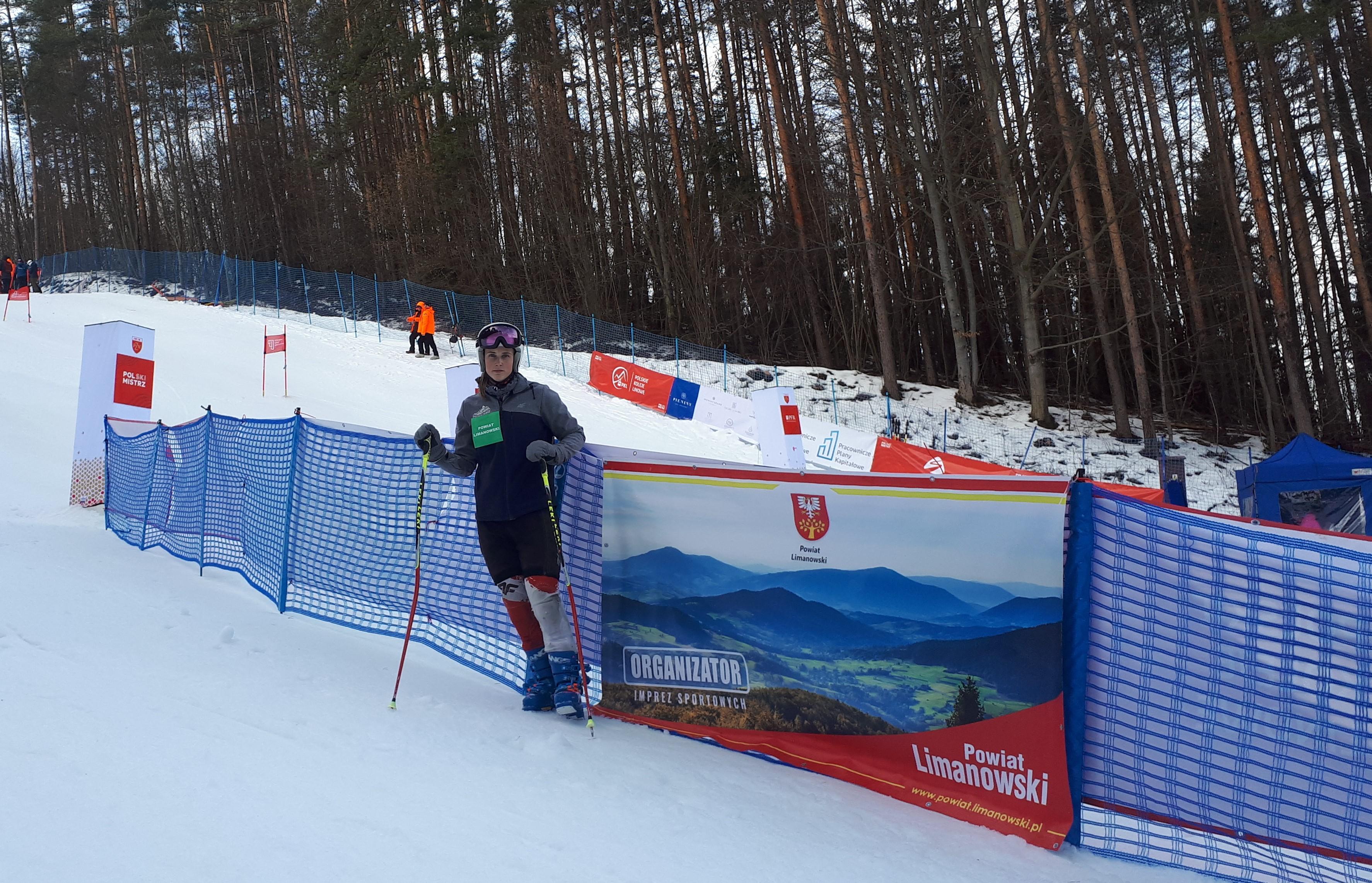 Patrycja Florek - Laureatką 4. miejsca w Mistrzostwach Polski w Naciarstwie alpejskim