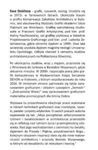 Ewa Stokłosa - wystawa w GOK Dobra, informacja biograficzna