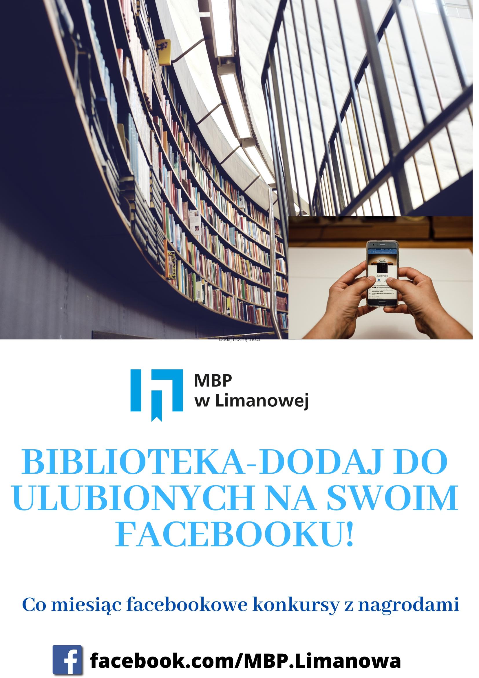 Biblioteka – dodaj do ulubionych na swoim facebooku!