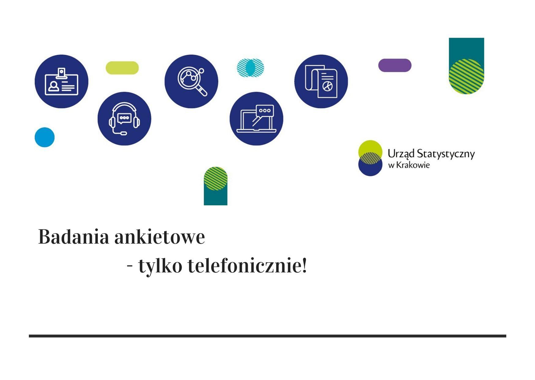 Badania ankietowe w województwie małopolskim- plakat informacyjny