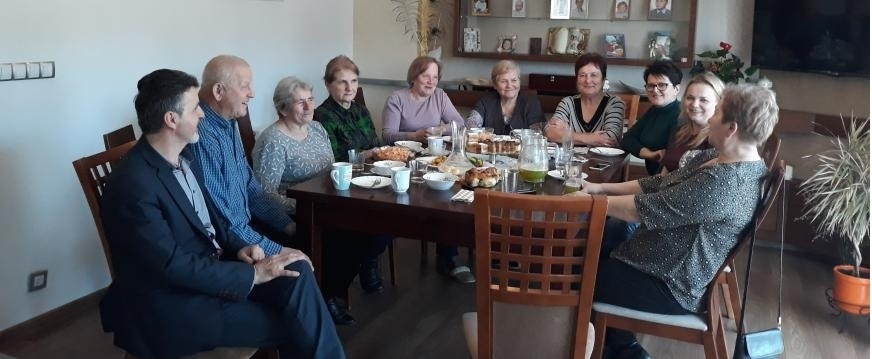 Pokaz zdrowego żywienia dla osób 50+ w Łętowem organizowany przez Powiatowy Zespół Doradztwa Rolniczego