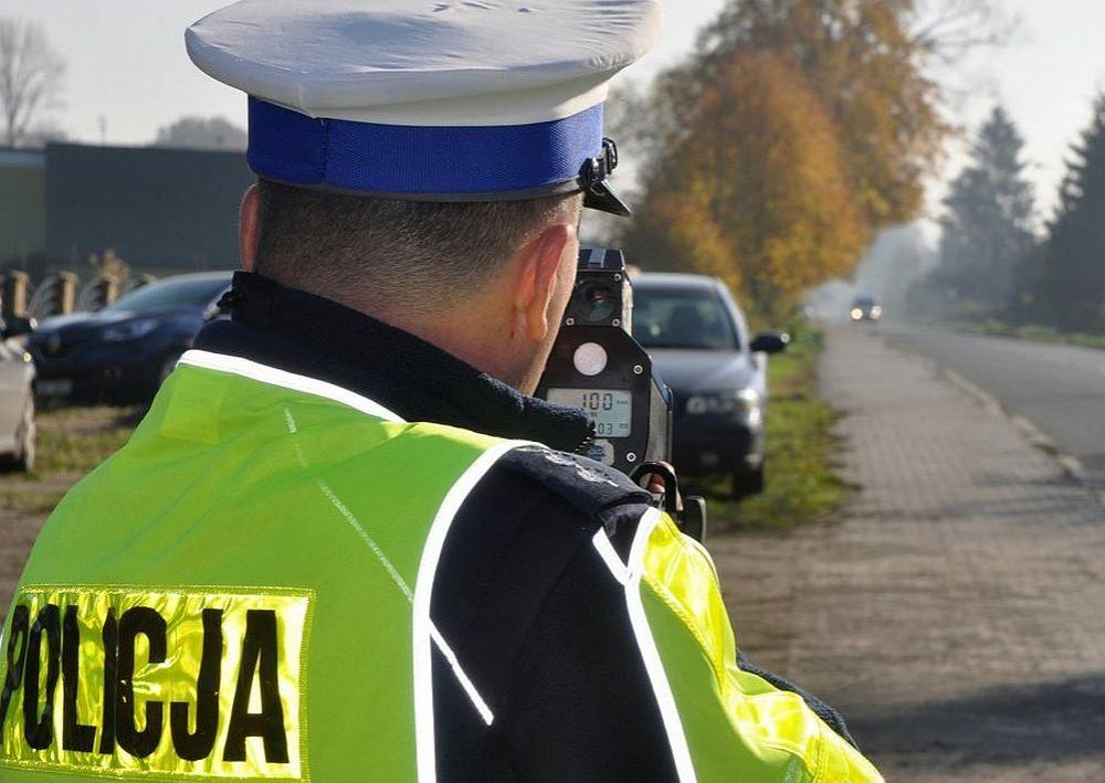 Informacja -policja: Kaskadowy pomiar predkosci 2020