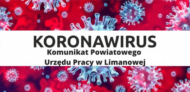 Komunikat Powiatowego Urzędu Pracy w związku z Koronawirusem