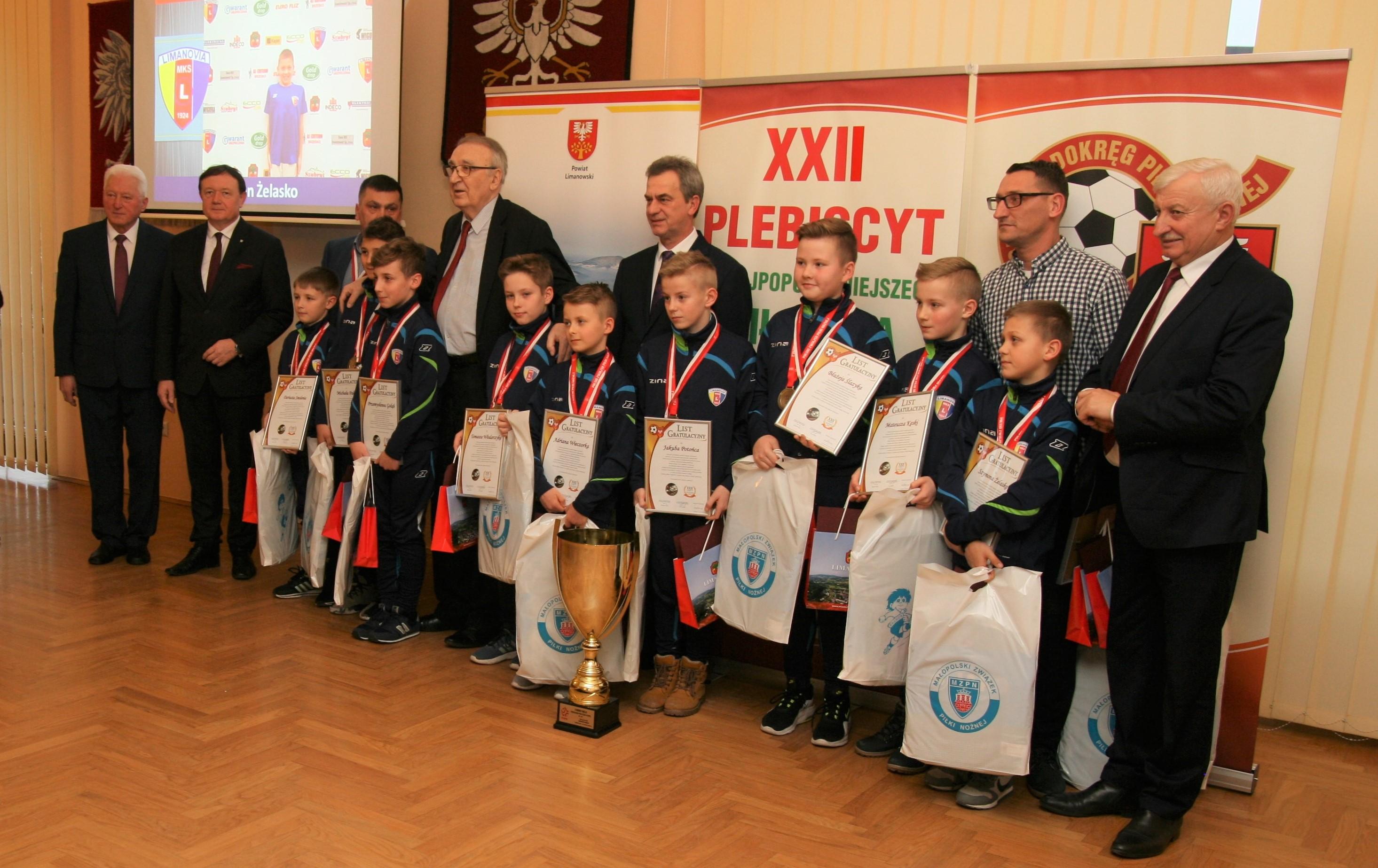 XXII Plebiscyt na Najpopulaniejszego Piłkarza i Trenera Ziemi Limanowskiej