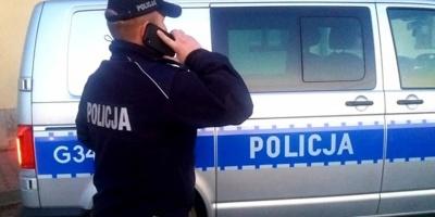 Limanowscy policjanci kontrolują osoby poddane kwarantannie - informacja