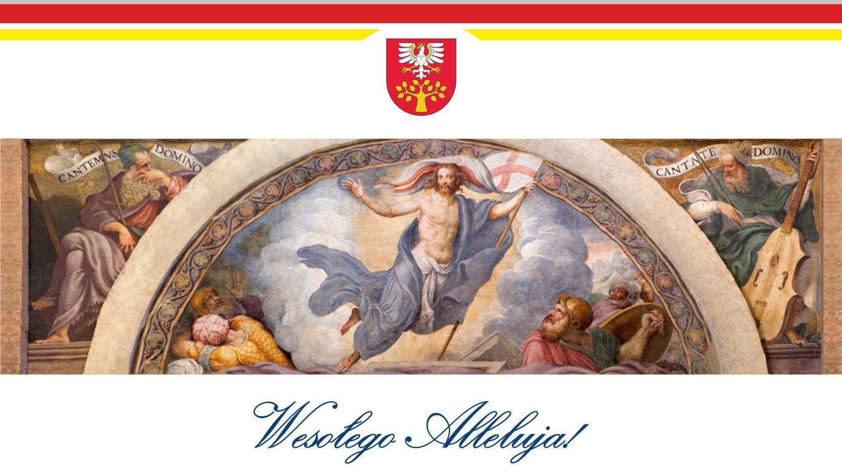 Życzenia Wielkancne 2020 od Zarządu Powiatu Limanowskiego, grafika 2