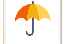 """aplikacja """"Twój parasol"""" logo"""
