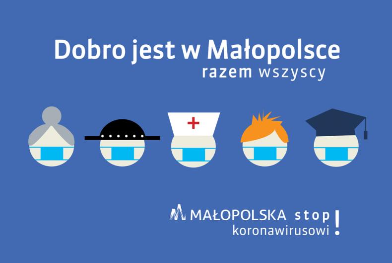 Dobro jest w Małopolsce - logo akcji