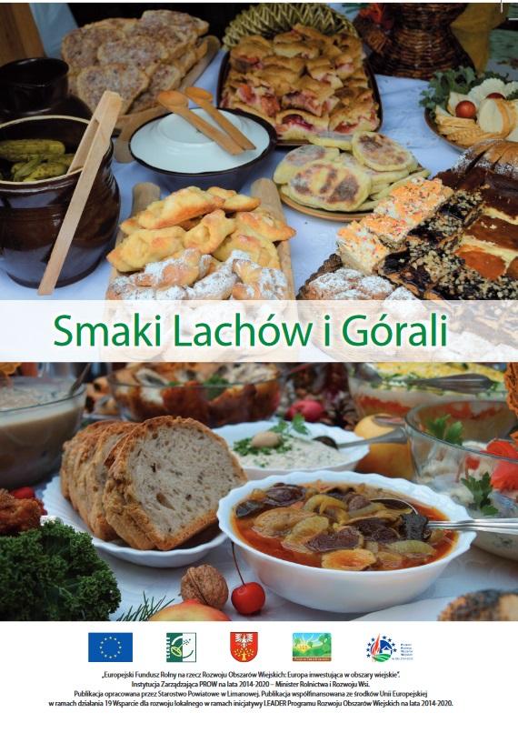 """okładka książki kucharskiej """"Smaki Lachów i Górali"""
