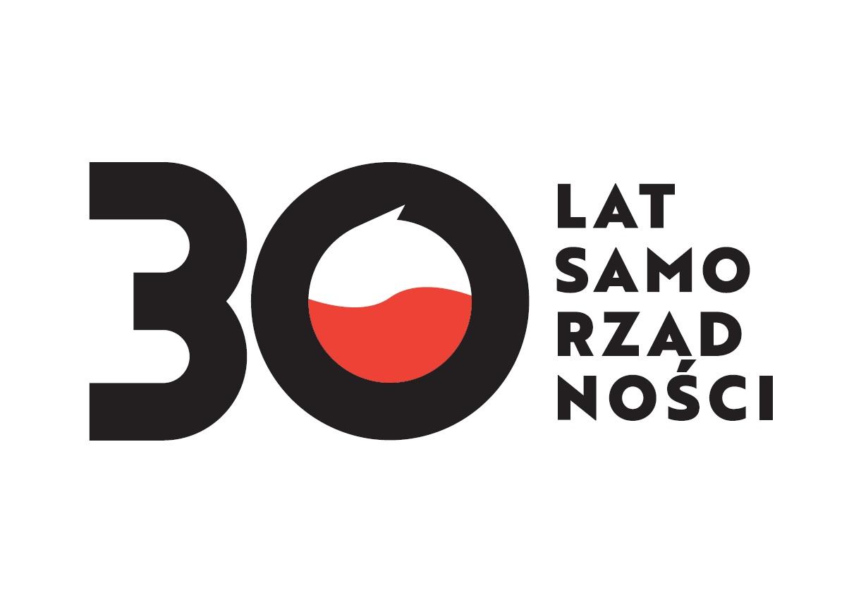 30 lat samorządności w Polsce- logo