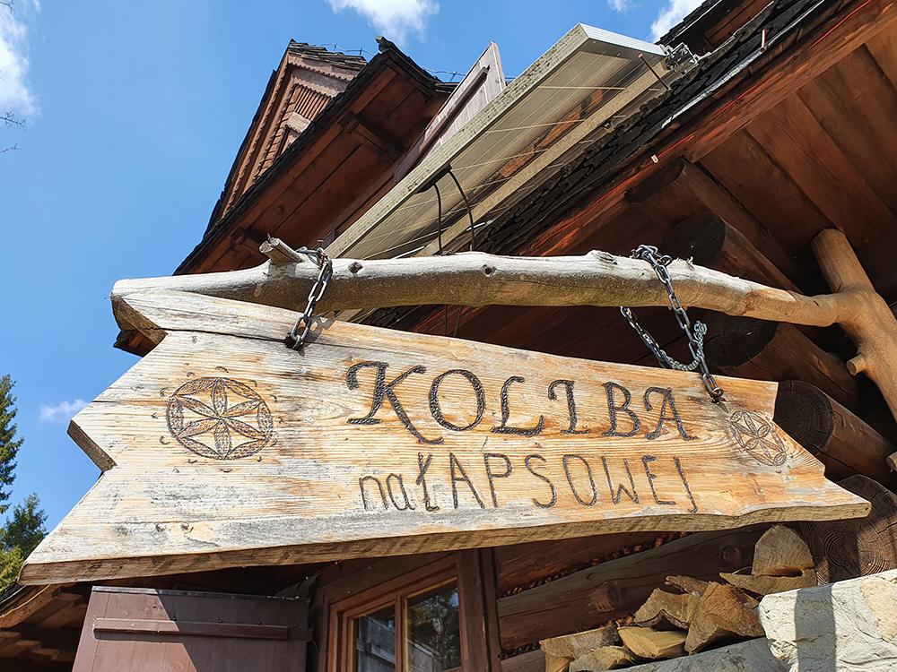Wirtualne rozpoczęcie letniego sezonu turystycznego w Gorcach 2020 - Koliba na Łapsowej