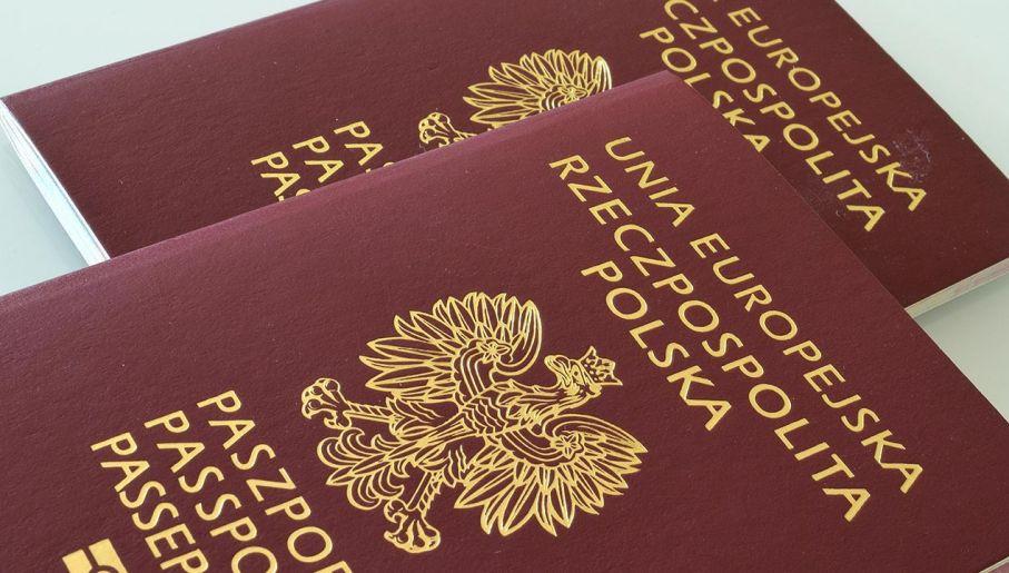 Paszport Rzeczpospolita Polska/ Unia Europejska