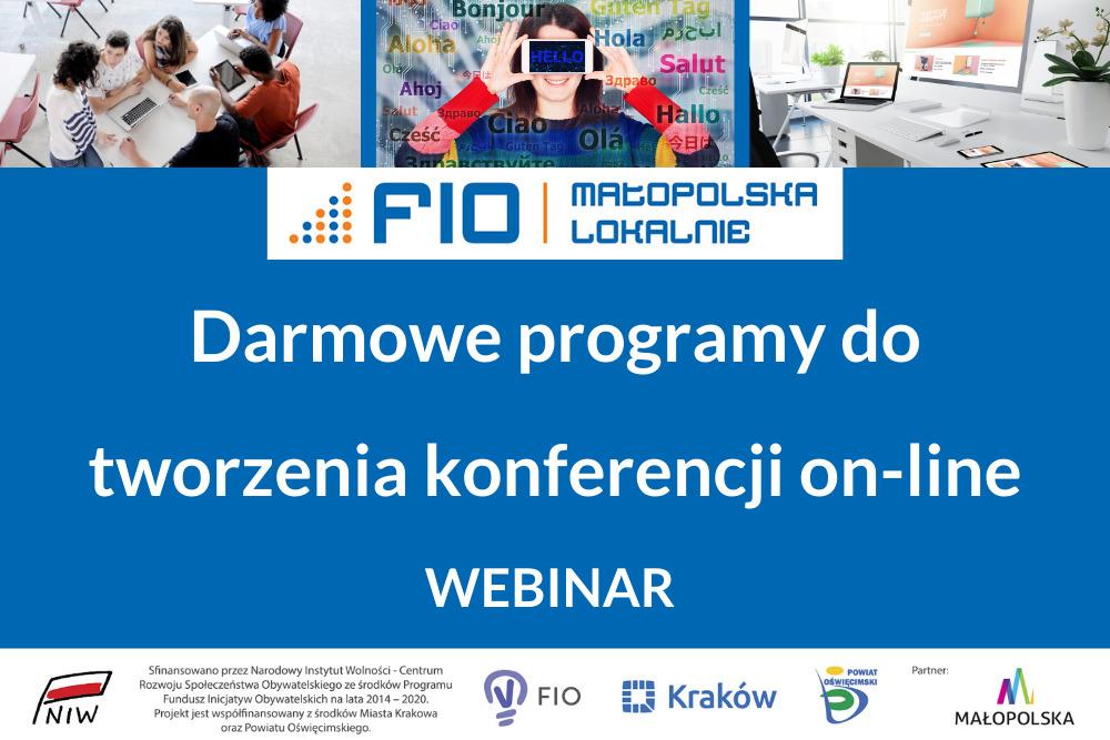 FIO Małopolska- plakat informacyjny