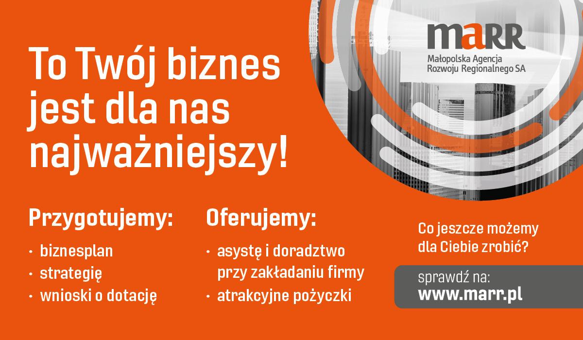 MARR plakat informacyjny