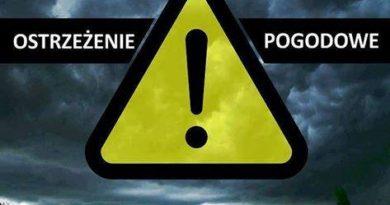 Ostrzeżeni pogodowe- logo