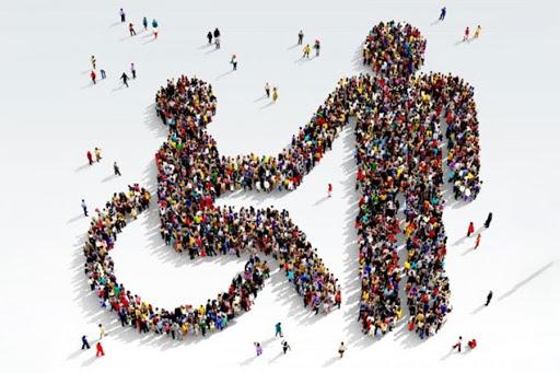 """Nabór do Programu """"Świadczenie usług asystenta osobisego osoby niepełnosprawnej"""" - logo"""