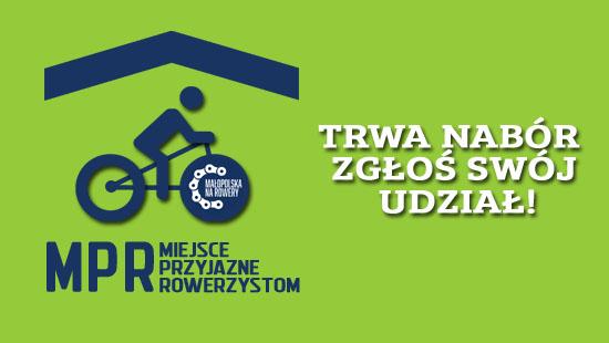 Miejsce Przyjazne Rowerzystom - logo