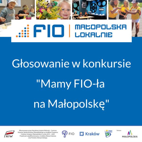 """grafika """"Mamy FIO-ła na Małopolskę"""""""