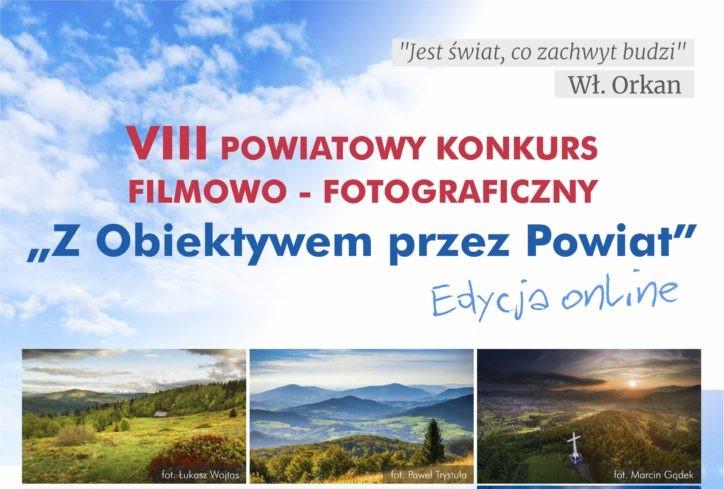"""grafika - """" Z Obiektywem przez Powiat"""""""