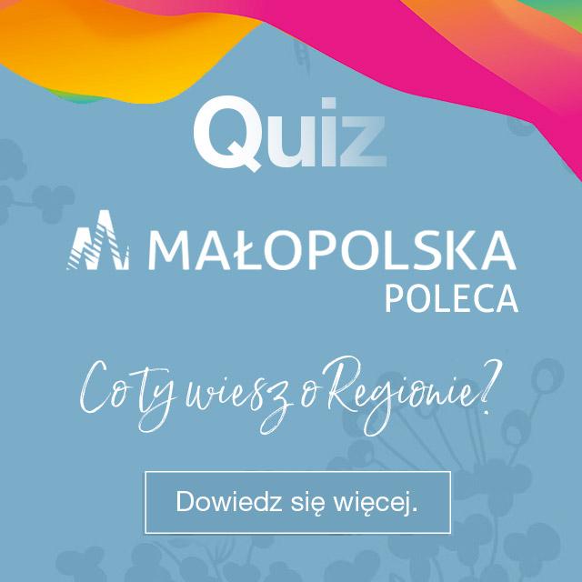 grafika - Małopolska Poleca - co Ty wiesz o Regionie?